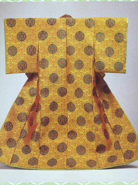 二陪織物の表着